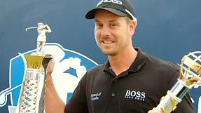 'Stellar year' for Stenson: golfer named European Tour Player of the Year