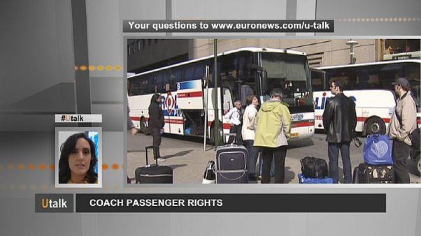 Die Rechte von Busreisenden