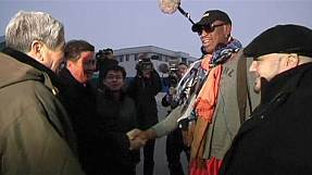 Dennis Rodman: the 'supreme leader' of North Korean basketball