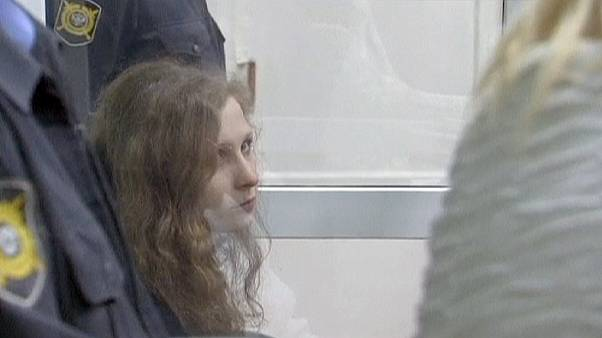 "Freed Pussy Riot member dismisses Putin's amnesty as ""PR stunt"""