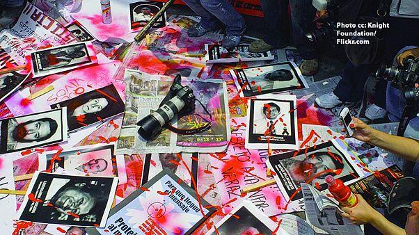 Encore une année noire pour le journalisme dans le monde selon RSF
