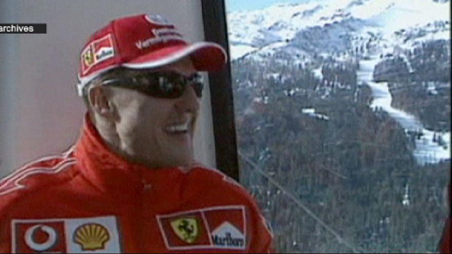 """Schumacher : """"légère amélioration"""", le pronostic vital toujours engagé"""