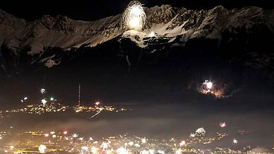 Lighting up the Alps in style