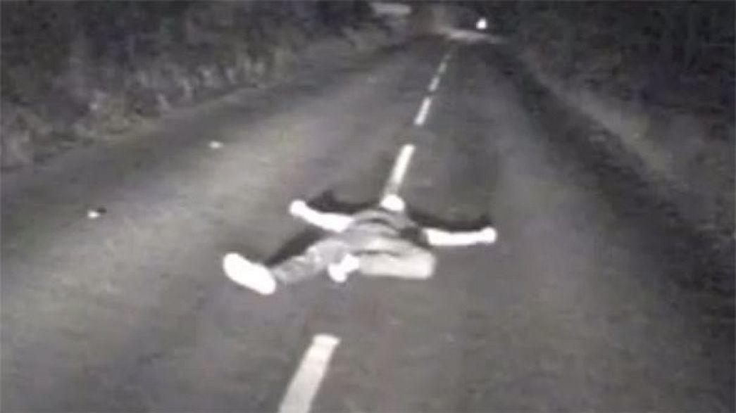 Video: Wie ein Busfahrer ein fast verlorenes Leben rettet...