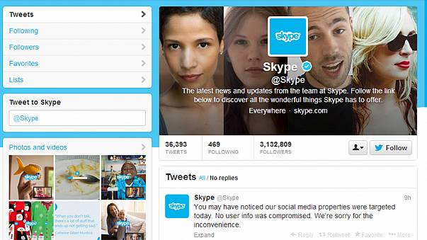 Szíriai hackerek feltörték a Skype Twitter-fiókját