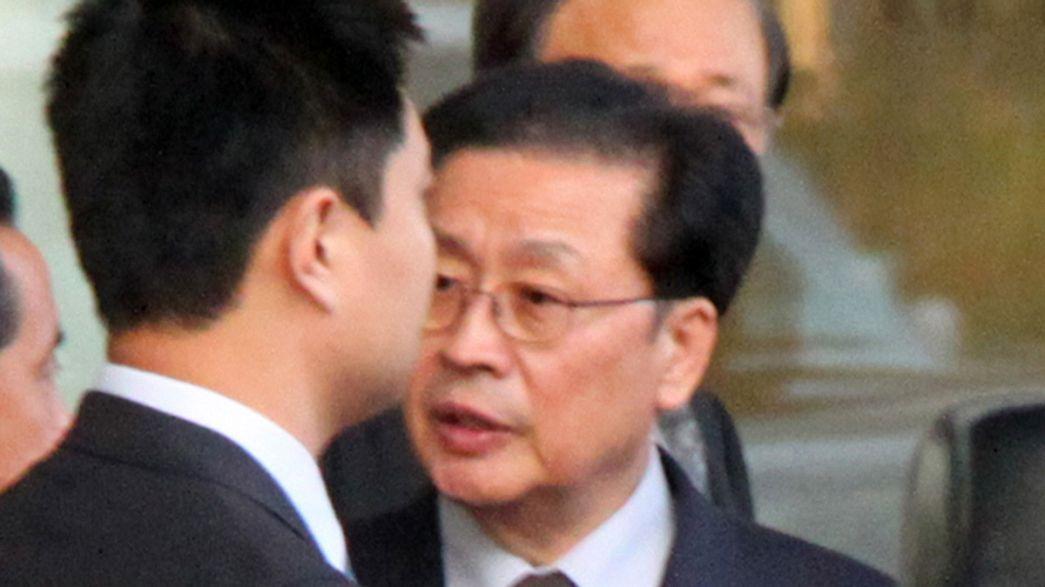 ¿El tío de Kim Jong-Un devorado vivo por una jauría de 120 perros?