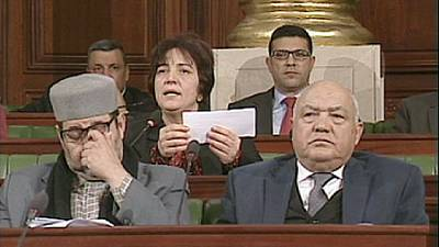 Tunisian parliament vote on new constitution