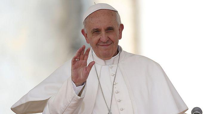 Furcsa újévi ajándékkal kedveskedett a pápa
