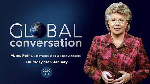 Viviane Reding answers your questions! #AskReding live on euronews