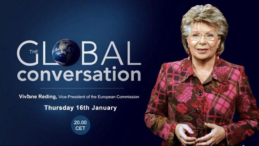 Viviane Reding répond à vos questions ! #AskReding en direct sur euronews