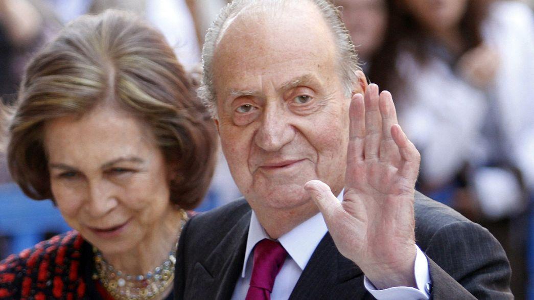 La monarquía española se adentra en un año difícil