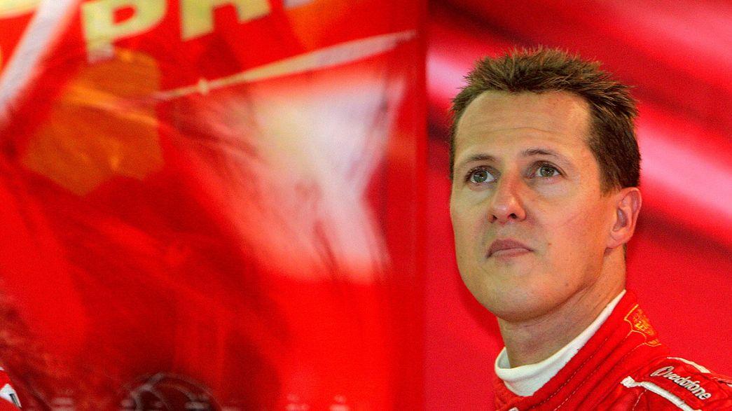 """Schumacher decidió """"por su cuenta y riesgo"""" adentrarse fuera de pista"""