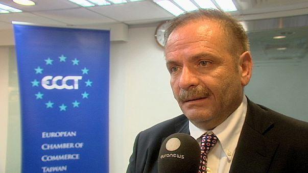 يورونيوز تركز في تحقيق خاص على مسار العلاقات التجارية الاوروبية التايوانية
