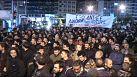 Zum Beginn der Ratspräsidentschaft: Griechen demonstrieren gegen EU