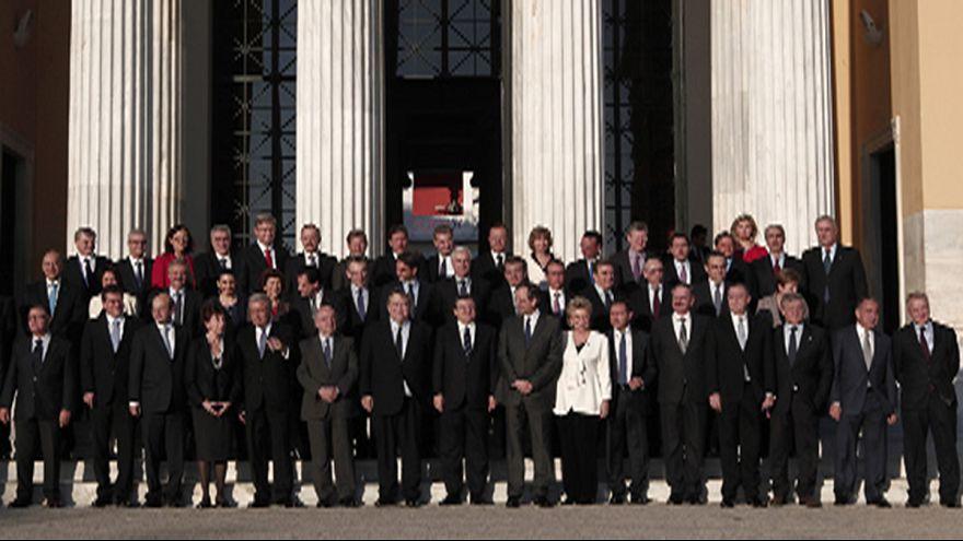 La Grèce à la barre d'une Europe qui entame une année décisive