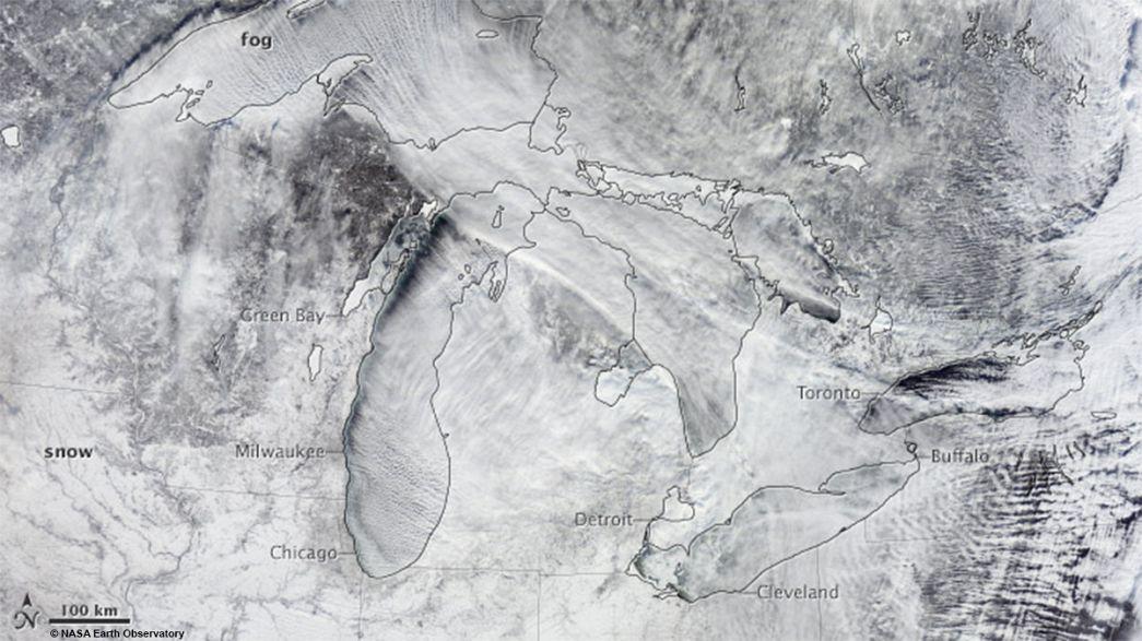 O que é o vórtice polar que está a congelar os EUA?