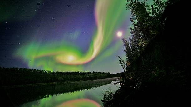 Aurora Borealis: cold comfort after 'polar vortex' in the US