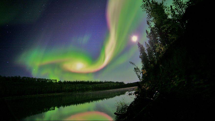 Aurora Borealis: cold comfort after 'polar vortex' in the US