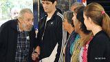 Kranker Fidel Castro zeigt sich dem Volk