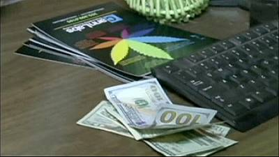 Brisk business for Colorado's booming marijuana trade