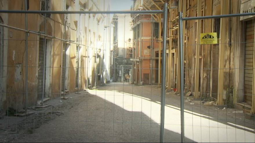 L'Aquila depreminin yaraları henüz sarılamadı