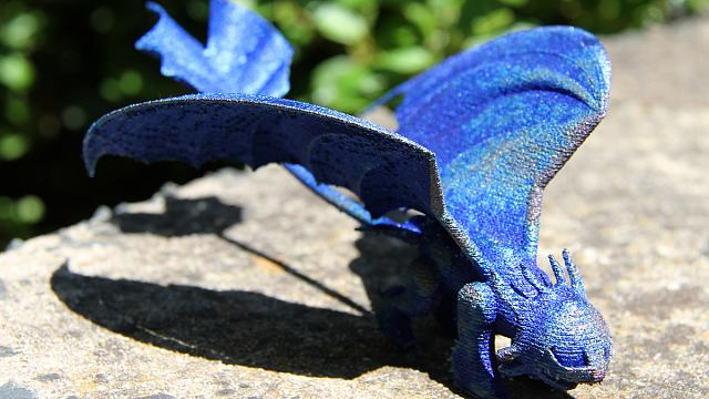 Australie : des scientifiques envoient un dragon à une petite fille