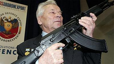 Mikhail Kalashnikov apparent torment over deaths caused by his AK47 rifle
