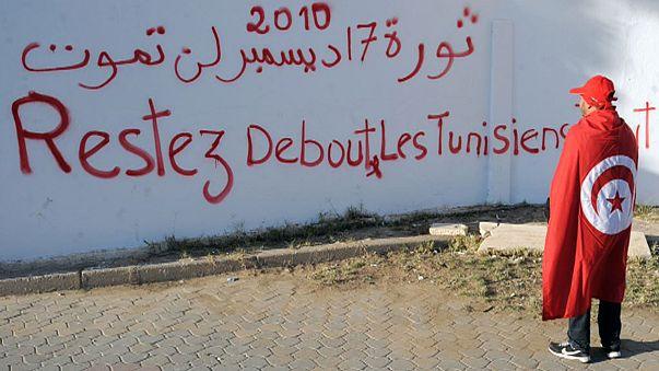 تونس تحيي ذكري ثورتها لكن دون المصادقة على الدستور