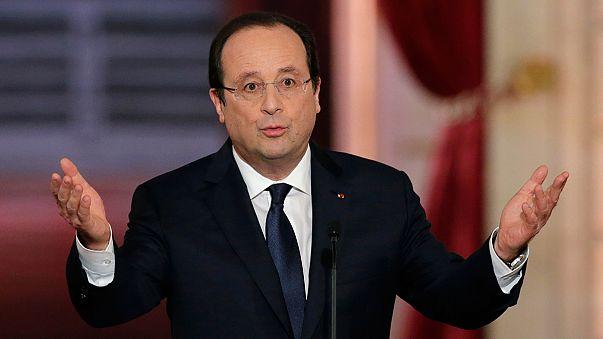 Hollande aclarará quién es la primera dama de Francia antes de su viaje a EEUU