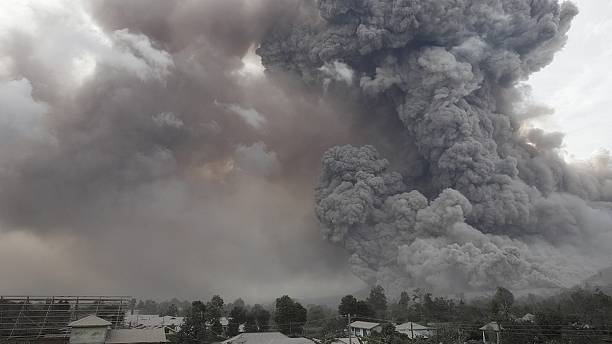 Indonesia: Sinabung volcano erupts more than 30 times spewing ash and lava