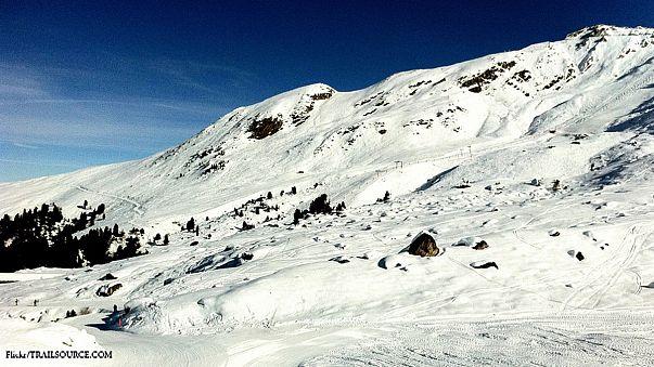 Kuzey Kore'de kayak keyfi