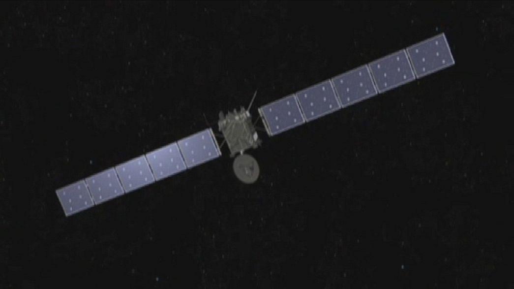 Uzay aracı Rosetta yakında kış uykusundan uyanacak