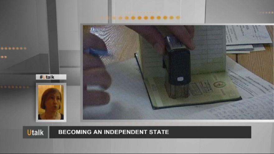 Ein unabhängiger Staat werden