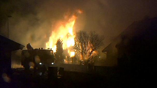Fire devastates heritage wood village in Norway