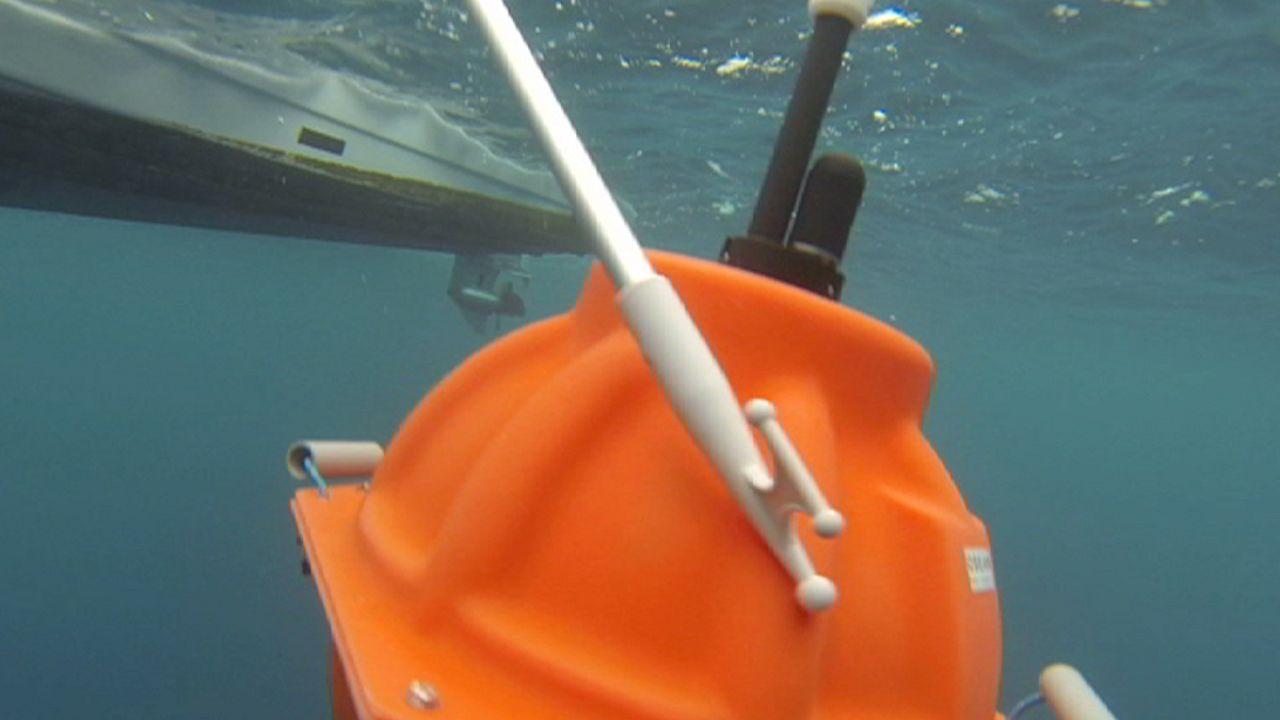 ثبت صداهای برخاسته از زمین لرزه در زیر آبهای دریاها