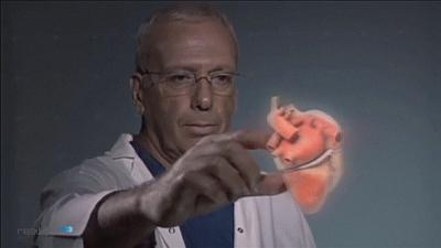 Holographic heart for better surgery