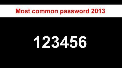 The worst passwords of 2013