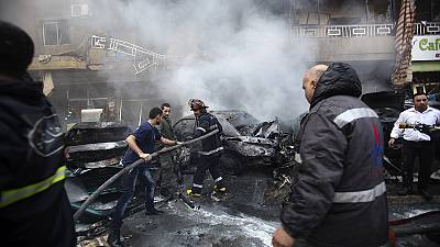 Explosion hits Beirut's southern suburbs, at least two killed