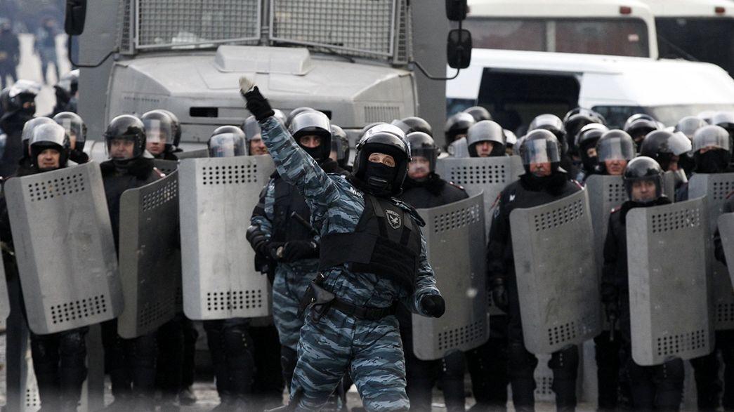 Ukrainian journalists accuse police of abuse