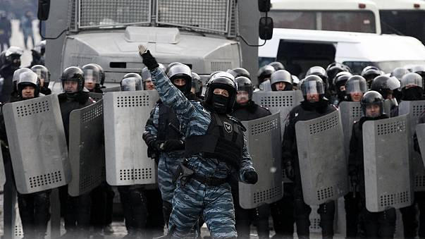 Ukrainian journalists accuse police of abuse