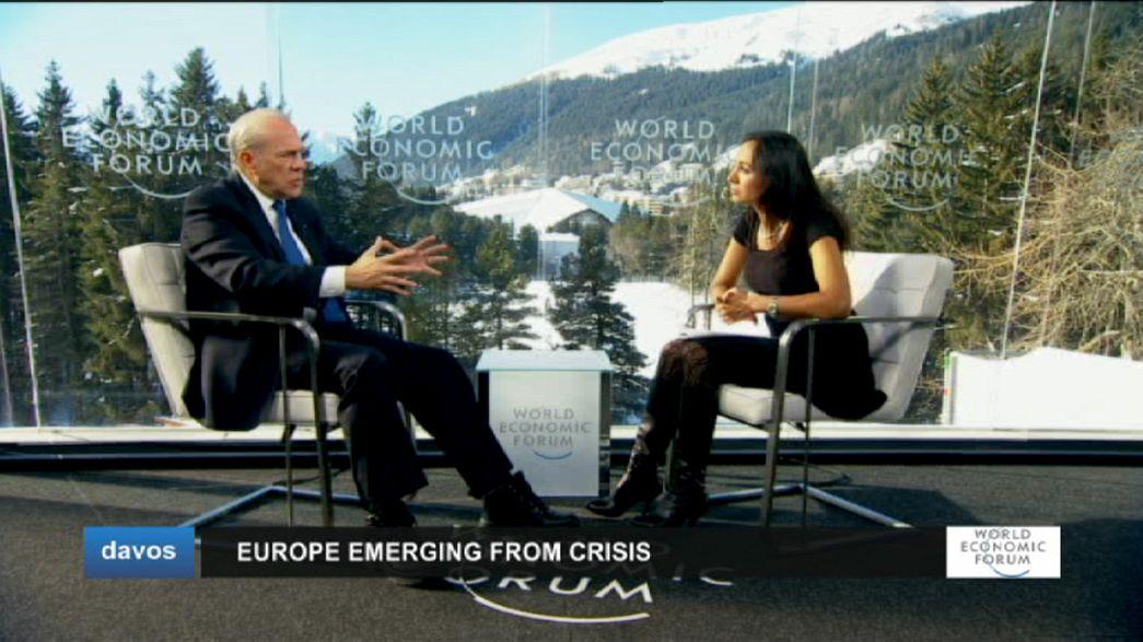 A Europa na mesa do Fórum Económico Mundial