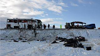 21 Tote bei Busunfall in der Türkei