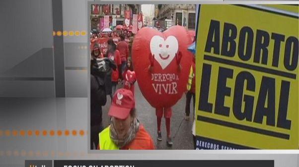 Το ζήτημα της έκτρωσης στην Ε.Ε.
