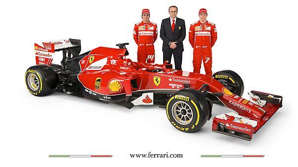 This is the new Ferrari Formula One car