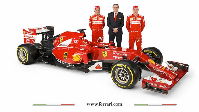 This is the new Ferrari Formula One car