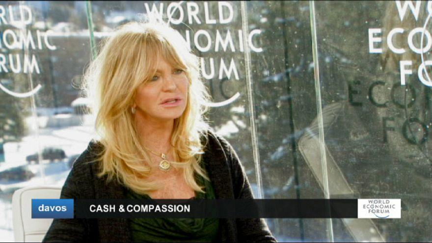 """Goldie Hawn, actriz: """"Tenemos que atender los problemas, no los síntomas"""""""