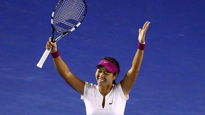 Li overwhelms Cibulkova to claim Australian Open
