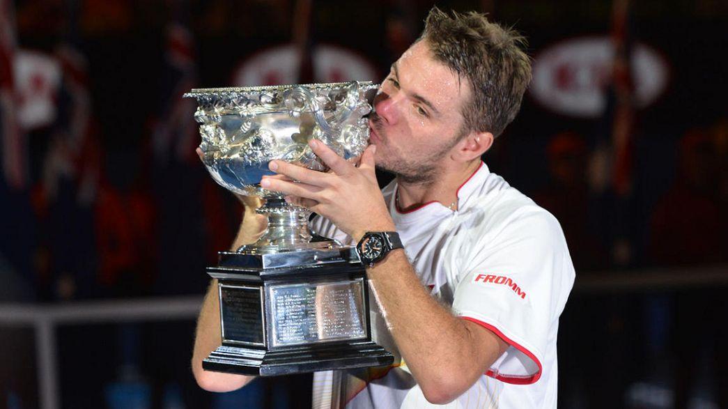 """Open da Austrália: Wawrinka conquista primeiro """"Grand Slam"""" da carreira"""