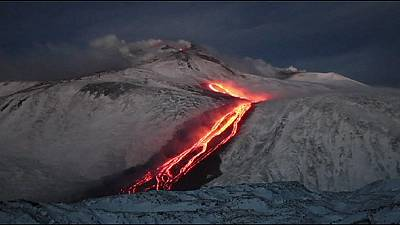 Etna erupts but no damage is reported