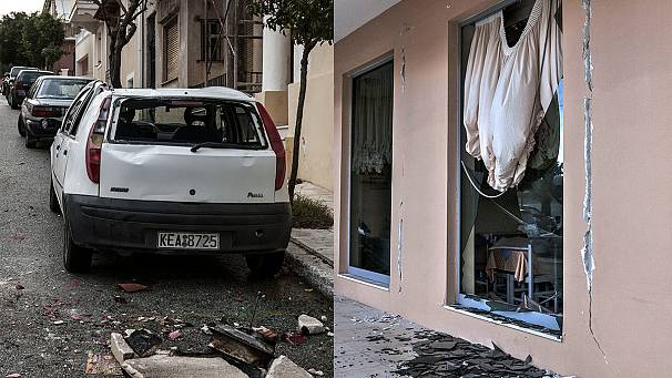 Greece: Aftermath of strong earthquake on Kefalonia island